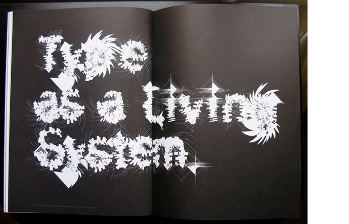 7/12- Letterforms as living organisms