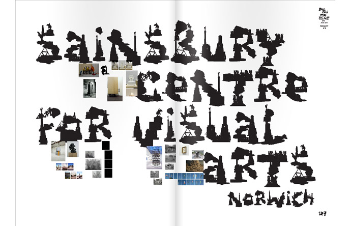 4/12 - Annoncement for Monument, at the Sainsbury Centre in Norwich
