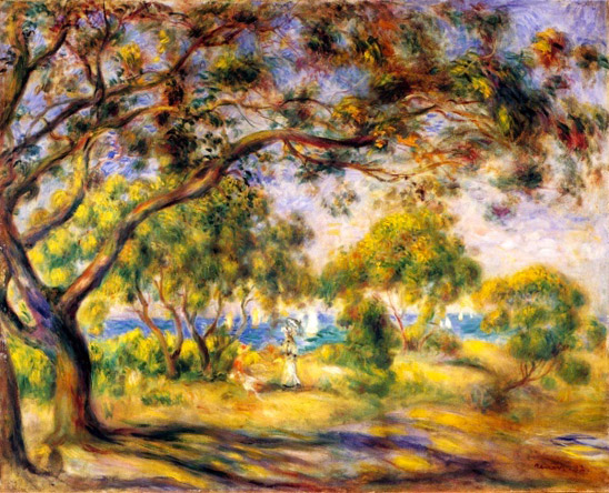 6/6 - Renoir's painting of a beach in Noirmoutier