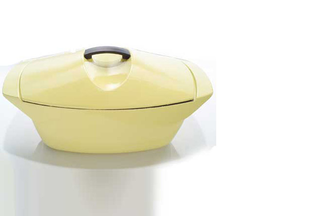 4/9 - Aerodynamique casserole for the Creuset, 1958