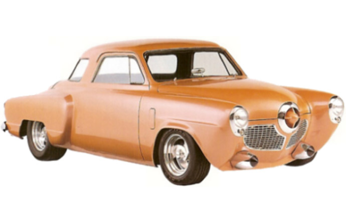 3/9 - Design for the 1951 Studebaker champion