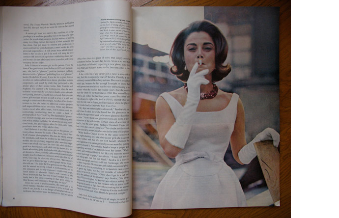 6/12 - The New York Career Girl by Hans Namuth, Holiday, March 1962