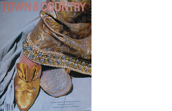 Cover of Town & Country magazine by Skrebneski, 1991