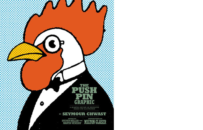 8/8 - Cover of the recent book on Push Pin Graphic, Chronicle Books, 2009