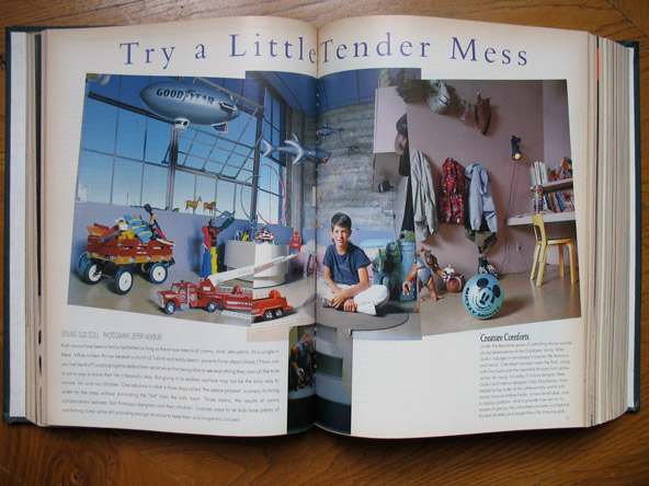 5 - From the pages of Parenting magazine: most kid's rooms in the US look like warehouses