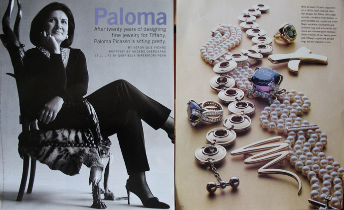 4/5 - Still wild at heart: Paloma Picasso in 2000