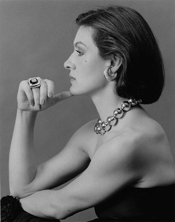 1/5 - Paloma Picasso by Robert Mapplethorpe, 1980