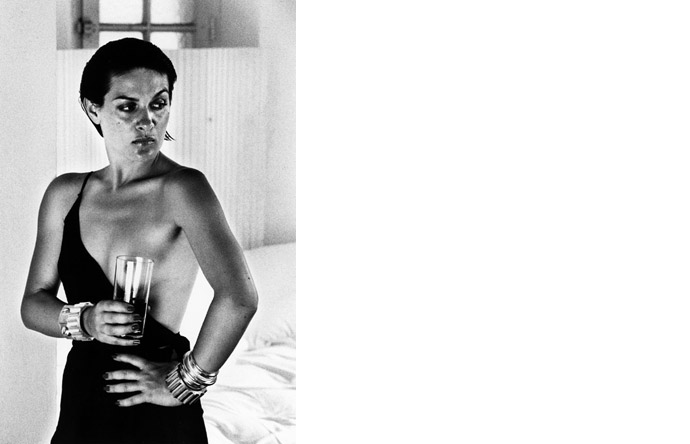 5/5 - Helmut Newton photographed Paloma Picasso in 1973