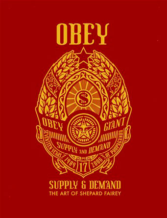 1/12 - Obey is a brand that promotes civil disobedience