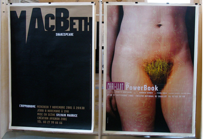 6/12 - MacBeth by Catherine Zask, 2001 & PowerBook by Michal Batory, 2003