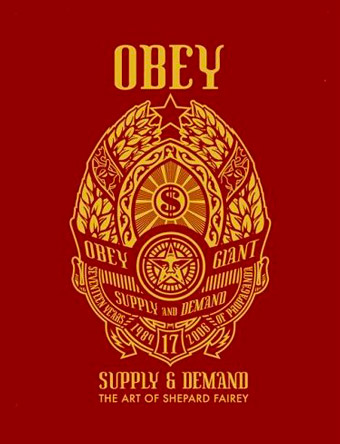 7/8 - Le livre Obey - Supply & Demand est sorti en 2006