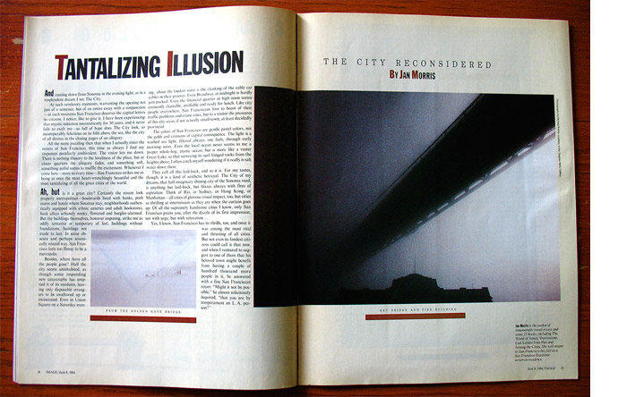 5/12 - Article by Jan Morris, photographs by Michael Kenna, June 1986