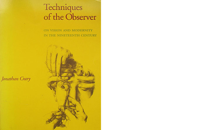 1/6 - Jonathan Crary is the author of Techniques of the Observer and Suspension of Perception