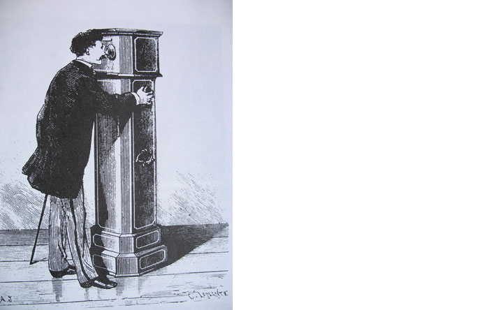 4/6 - Devices that isolate viewers became popular in the 19th century